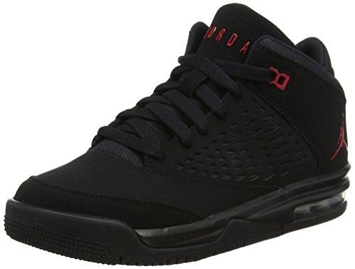 Nike Jungen Jordan Flight Orgin 4 (GS) Basketballschuhe, Schwarz (Black G Y M Red 002), 39 EU