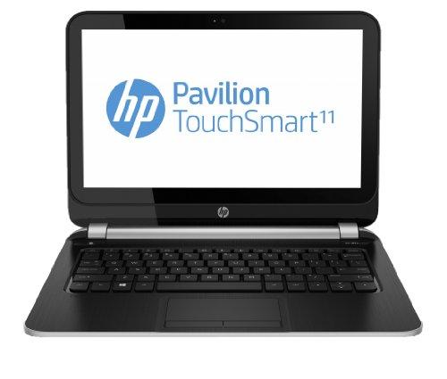 "HP Pavilion TouchSmart 11-e001sa 1GHz A4-1250 11.6"" 1366 x 768Pixel Touch screen Nero, Argento Computer portatile"