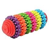 Timogee Hunde Zahnbürste mit Zahnpflege, Kauen Zähne Putzen Spielzeug für Mittlere bis große Hunde, Katzen, die Meisten Haustiere, Geschenk für Haustiere Liebhaber (Multicolor)