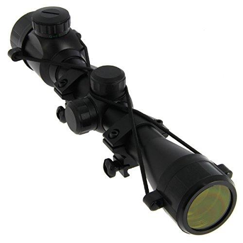 G8DS® Zielfernrohr 4x32 mit Montage für Luftgewehre und Kleinkaliber beleuchtet