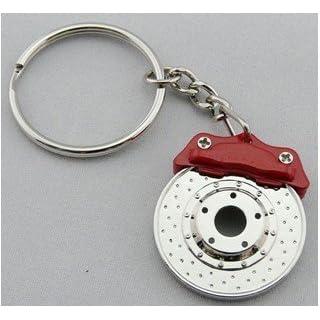 ARSpeed TBOARS1 Schlüssel Anhänger Bremsscheibe Rot Chrom