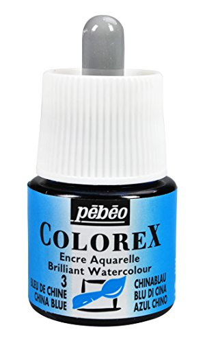 Colorex 341-003 Aquarelltinte, PET, Blau, 4.5 x 4.5 x 7 cm, 1 Einheiten
