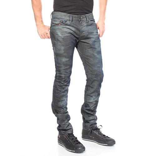 Diesel Jeanshosen Thavar 845P Slim Skinny Slim Skinny Herren Blau