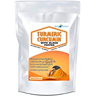 Turmeric Capsules with Black Pepper 180 Pills | High Strength 600MG Up to 6 Months Supply Curcumin Food Supplement High Strength Anti-Inflammatory Digestive Vegetarian & Vegans by NutriExtracts