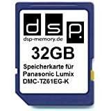 32GB Speicherkarte für Panasonic Lumix DMC-TZ61EG-K
