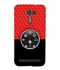 For Asus Zenfone 2 Laser ZE601KL (6 Inches) -Livingfill- Dashboard gives quick access Printed Designer Slim Light Weight Cover Case For Asus Zenfone 2 Laser ZE601KL (6 Inches) (A Beautiful One of the Best Design with a Classic Theme & A Stylish, Trendy and Premium Appeal/Quality) (Red & Green & Black & Yellow & Other)
