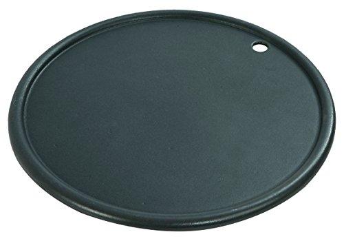Rösle 13502 Grillplatte Vario Durchmesser30cm, SansibarG3/G4, schwarz, 30,5 x 30,5 x 1,5 cm