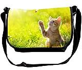 Multifunction Butterfly On A Flower Sling Bag Portable Travel/Business/Workout Shoulder Bag