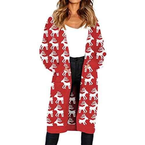 Bluelucon Damen Dicker Winterparka Mode Winterjacke, Übergröße Mäntel Outwear Wintermantel Frauen Winter Warm Jacke Knöpfe Oberbekleidung Mit Kapuze Trenchcoat Sweatshirt
