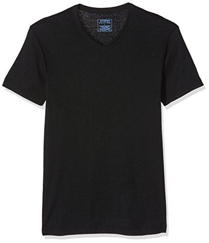 athena-l220-maillot-de-corps-uni-lot-de-2-homme-noir-small-taille-fabricant-2
