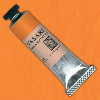 VASARI : CLASSIC OIL PAINT : 40ML : CADMIUM YELLOW DEEP
