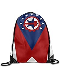 Preisvergleich für Vilico The United States Cool Gym Kordelzug Tasche Reiserucksack Tragetasche Schulrucksack