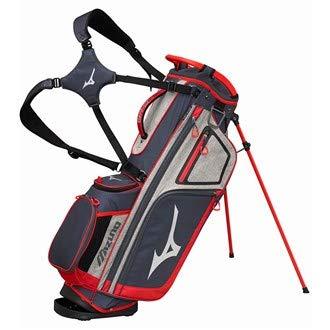 Mizuno BRD4S Sac de Golf Mixte Adulte, Gris/Rouge