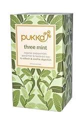(10 Pack) - Pukka Three Mint Tea  20 Bags  10 Pack - Super Saver - Save Money