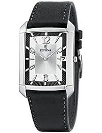 Festina Herren-Armbanduhr Klassik Analog Quarz Leder F6748/1