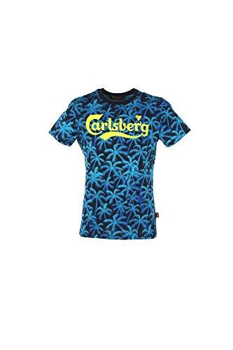 t-shirt-uomo-carlsberg-2xl-azzurro-cbu2601-1-7-primavera-estate-2017