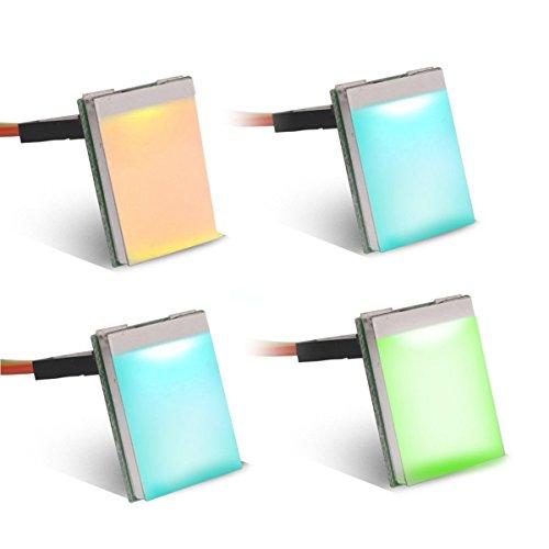 MakerHawk 4 stücke Bunte Licht Automatisierung HTTM-SCR Kapazitanz Touch Sensor Modul Kapazitiven Schalter Sensor Taste 7 Farben Ändern Automatisch