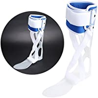 Corrector de Pie Tobillo Ortopédica con FDA Attestation Tobilleras Férula Soporte Foot Droop Orthosis Corrección(Right M)