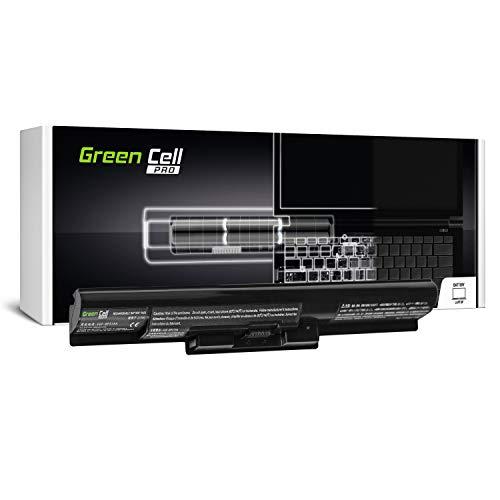 Green Cell Pro Serie VGP-BPS35A Laptop Akku für Sony Vaio SVF14 SVF15 Fit 14E 15E SVF1521C6EW SVF1521F2EW SVF1521G6EW SVF1521K1EW (Original Samsung SDI Zellen, 4 Zellen, 2600mAh, Schwarz)