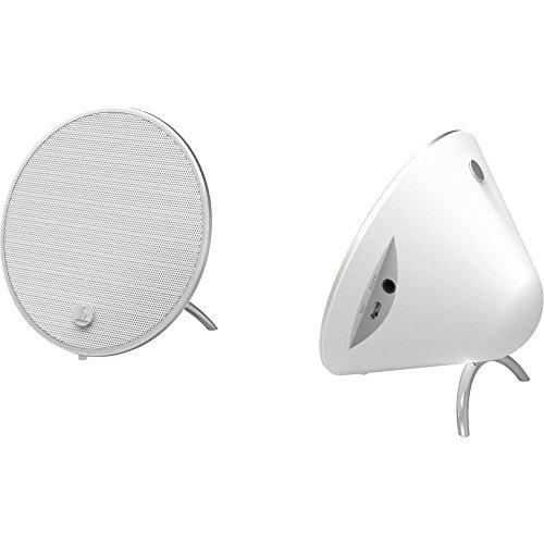Preisvergleich Produktbild Hama Cones Stereo Tragbarer Lautsprecher 10W Wei–Tragbare Lautsprecher (2.0Kanäle, 10W, 100–20000Hz, 4Ohm, 1%, verkabelt u. Kabellos)