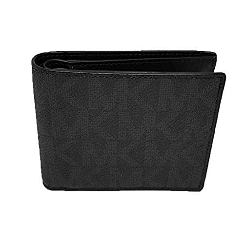 Michael Kors Jet Set black Men's Billfold W/Pocket