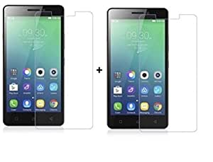 S Fancy temper glass Pack of Two for Gionee Pioneer P3s