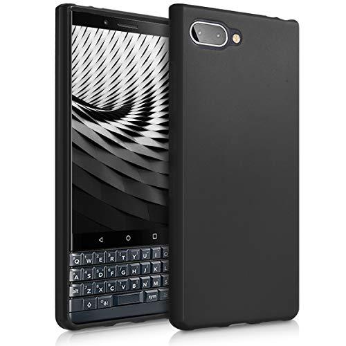 kwmobile BlackBerry KEYtwo LE (Key2 LE) Hülle - Handyhülle für BlackBerry KEYtwo LE (Key2 LE) - Handy Case in Schwarz matt