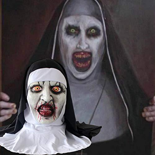 smzzz Horror Maske Kinder,Latex Maske Horror Maske für Halloween Cosplay Partei-Kostüm-Abendkleid (Varys Kostüm)