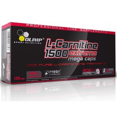 L-Carnitine 1500 Extreme - 120 mega caps by Olimp Nutrition M