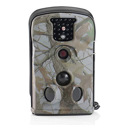 Jagdkamera, HD 1080P12MP Jagdkamera, 0,2-Trigger der Bewegung aktiviert Infrarot-Nachtsicht 20 Meter IP54 wasserdichtes Band 2,36 Zoll LCD, Outdoor-Home-Sicherheit