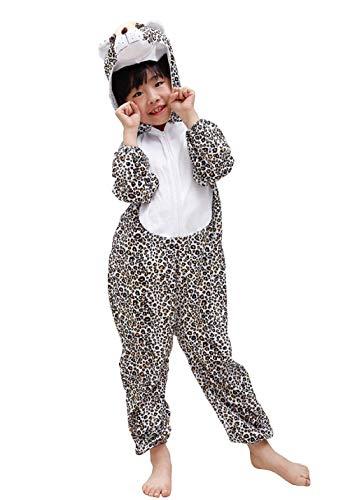 Lovelegis (Größe S) Leopard Kostüm - 2 - 3 Jahre - Karnevalskostüm - Halloween - Mädchen - Kind - Unisex - Cosplay
