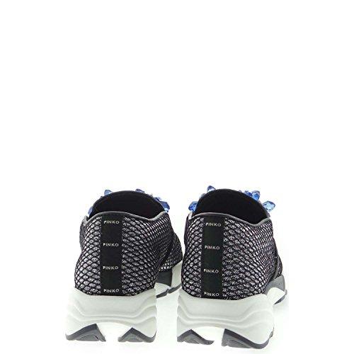 Pinko FOSCHIA Sneakers Donna Argento Nero