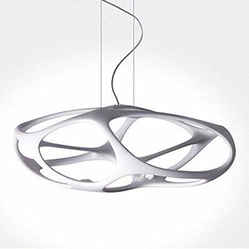 VanMe Lampada Moderna Personalità Creative Lusso Illuminazione Lampadari,Bianco