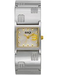 Mango A68205B4I - Reloj para mujeres, correa de acero inoxidable color plateado