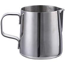 150 ml / 350 ml / 350 ml / 600 ml / 900 ml / 1000 ml Acero inoxidable leche Frother Jarro con la escala Jarra para emulsionar leche