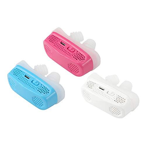 HZYWL Schnarchgeräte Luftreiniger Schlafstopper Elektro Mini CPAP Elektro Anti Nose Schnarchgeräte Verbesserter Schlaf nachts,Combination