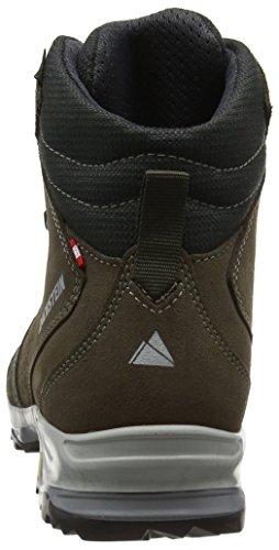 Dachstein Hochkönig Dds Wmn, Chaussures de Randonnée Hautes femme Gris (Taupe/aqua)