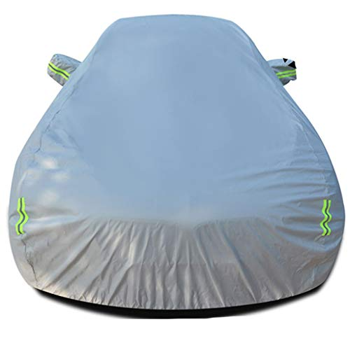 Protective cover, snow resistant and waterproof for all types of weather, sun protection, UV protection, windproof, universal exterior cover for cars