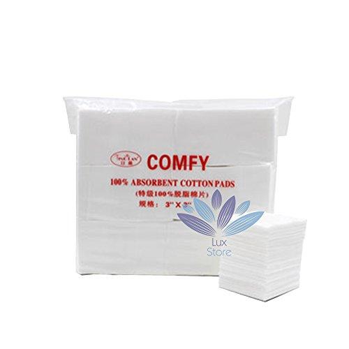 Coussinets de coton cosmétiques éponge éponge Nettoyage Nettoyage de la peau Soin de la peau Puff - 550 Pack - Blanc