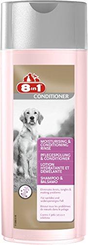 8in1 Pflegespülung und Conditioner für Hunde (für sprödes und widerspenstiges Hundefell), 250 ml Flasche
