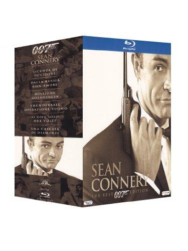 Sean Connery 6 Bd [Licenza Di Uccidere - Dalla Russia Con Amore - Missione Golffinger - Thnderball Operazione Tuono - Si Vive Solo Due Volte - Una Cascata Di Diamanti]