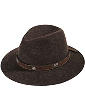 Herren Faustmann Hüte Hut braun 'Edelweiß', 384-BRAUN,