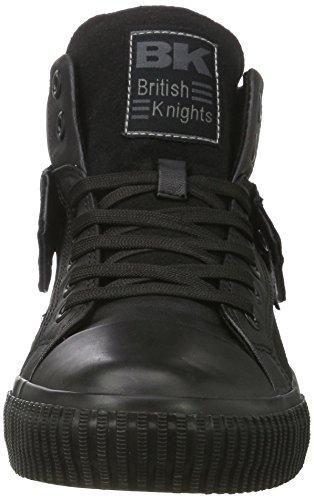 British KnightsROCO - Scarpe da Ginnastica Basse Unisex – Adulto Nero (Schwarz (Black/Black 01))