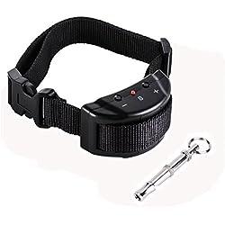 Collar anti ladridos, Novatech Collar Antiladridos Descarga Adiestramiento Perros Regulable Bark Stop Sonido