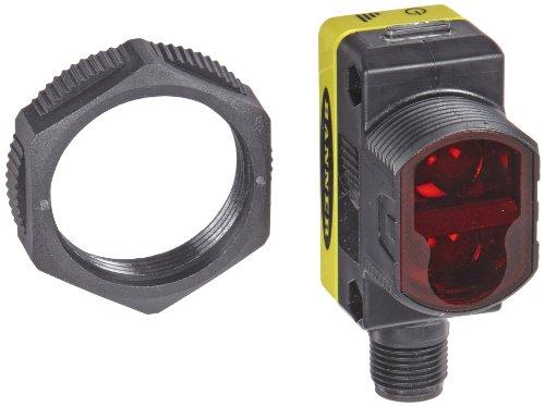 Banner QS30DQ Welt Beam Universal Sensor, diffusem Sensing Modus, 5-pin Integral euro-style QD Anschluss, Infrarot-LED, 10-30VDC Versorgungsspannung, bipolar (PNP- und NPN) Ausgang, 1m Sensing Serie