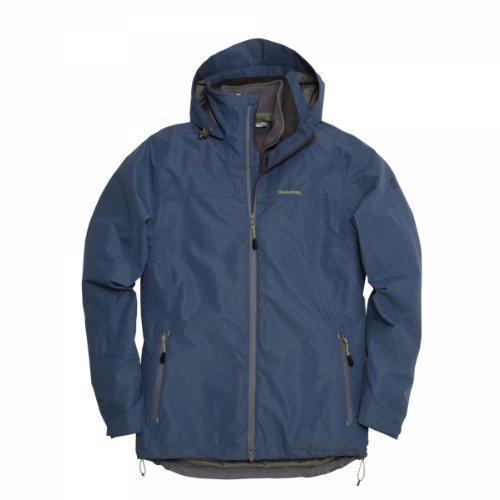 Craghoppers Izo Veste d'hiver 3 en 1 pour homme Multicolore - Bleu foncé/granite