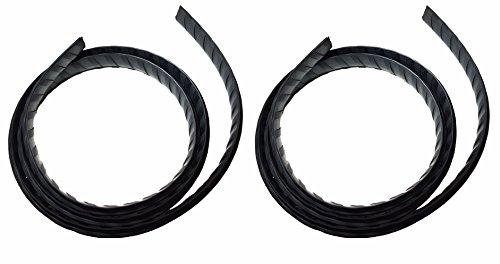 Thule, pezzo di ricambio per barra portatutto 960,961,962,969e 963,striscia di gomma aerodinamica (coppia)