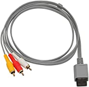 Mcbazel Composite Audio Video AV Cable for Wii Console