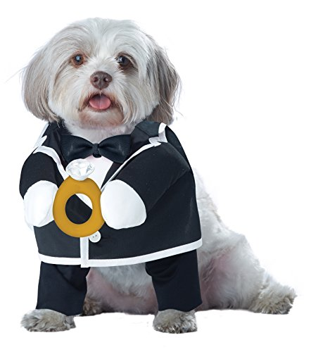 California Costumes pup-a-Razzi Puppy Love-Groom Hund Kostüm, schwarz/weiß, - Kind Puppy Love Kostüm