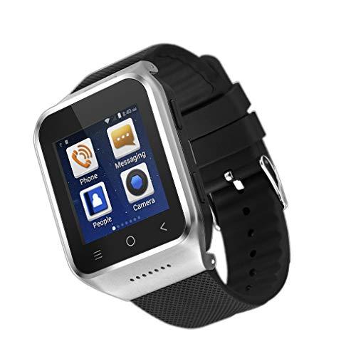 Luckiests Bluetooth 4.0 Touch Screen Smart Watch Kamera Supports Uhr SIM-Karte Wrist Telefon Passend Android 5.1 Smartphones - Support Watch